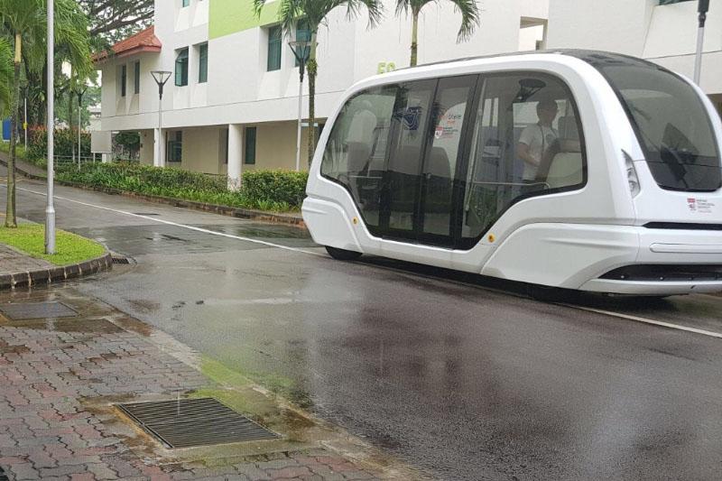 Nanyang Technological University:Automated Transit at Nanyang Technological University On Campus